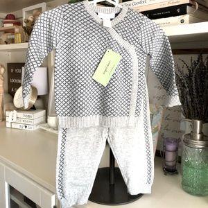 Angel Dear Little Dandy Kimono Top & Pant